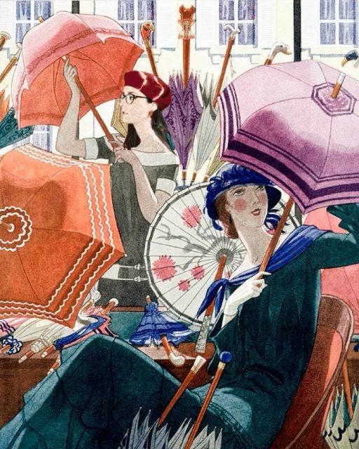 Últimos días de rebajas en boinas🍄 hasta final de mes! Echa un vistazooooo a nuestra weeeb!!! 🔻 muchomelon.com 🔻 Cogimos una portada antigua de Vogue e hicimos este cartel😁con perdón del ilustrador Pierre Brissaud y Vogueeeee😬 special thanks to @palomayamen  . . . .  #muchomelon #woolberet #ofertalomitada #animacionsencilla #ilustracionantiguo #vintageilustration #pierrebrissaud #vintagemagazinecover #1924 #portadarevista #vintagevoguecover #cuteanimation #funnygif #beretstyle  #rollovintage #vintagevibes #winterhat #muchoscolores #gorrasdeinvierno  #estiloparisiense #boinasdelana #emilyinparis