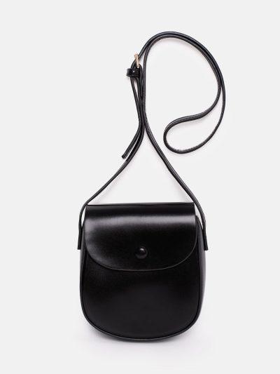 bolso saddle negro