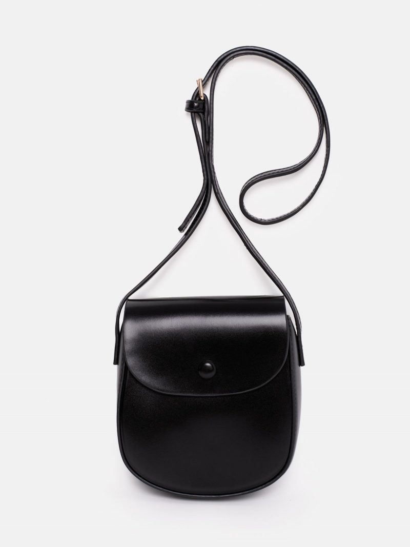 bolso saddle negro
