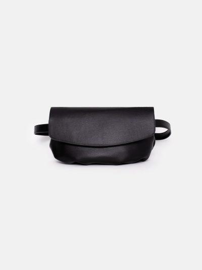 bolso soft motero negro