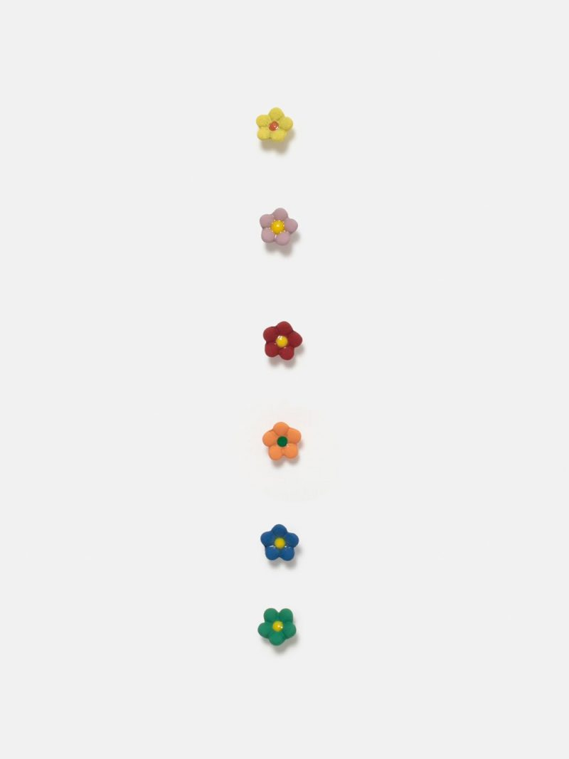 pack de pendientes mini-mini flores