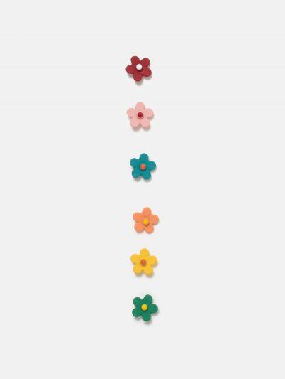 pack pendientes mini florES