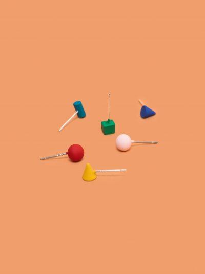 pack pendientes de mini figuras 3D