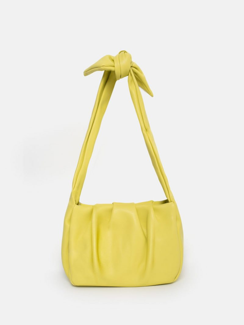 bolso tender knot amarillo