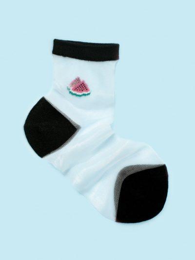 calcetines de malla silky watermelon