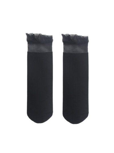 calcetines volantes negro