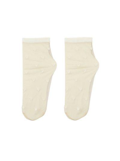 calcetines plumeti corazoncitos blanco