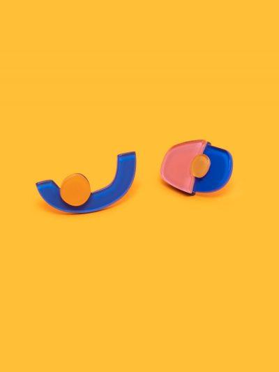 pendientes Miró I con fondo