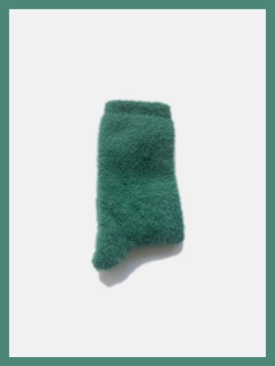 calcetines pelito verde pato