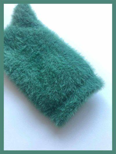 calcetines pelito verde pato detalle