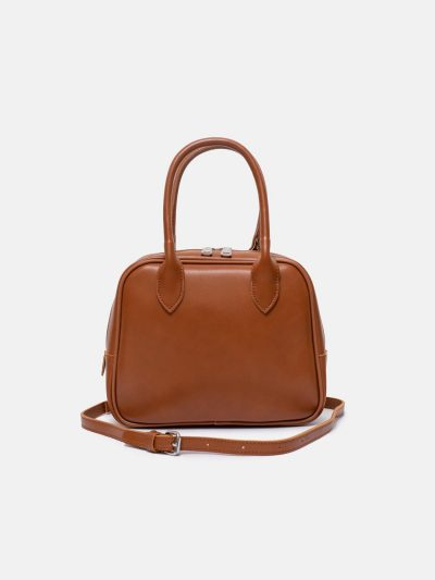 Bolso No.11 marron frontal