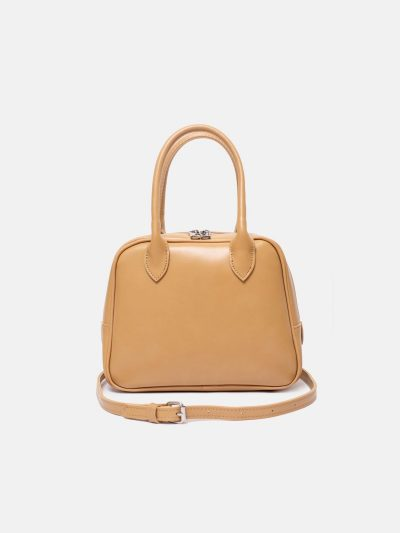 Bolso No.11 ocre frontal