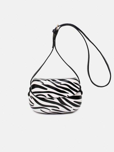 bolso shell zebra